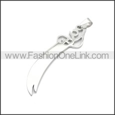 Stainless Steel Pendant p010761S2