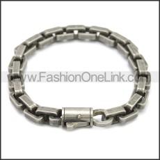 Stainless Steel Bracelet b009929A