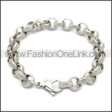 Stainless Steel Bracelet b009932S