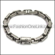 Stainless Steel Bracelet b009928A