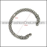 Stainless Steel Bracelet b009968SH