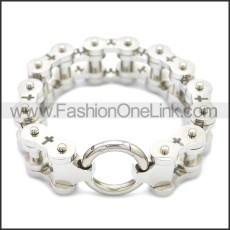 Stainless Steel Bracelet b009937S