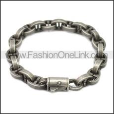 Stainless Steel Bracelet b009930A
