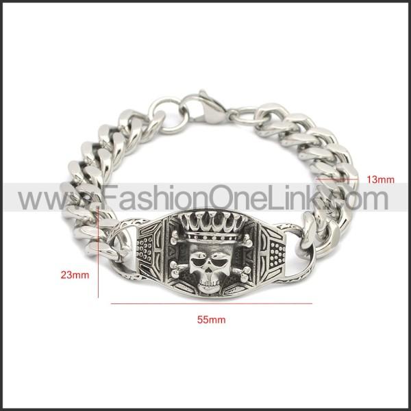 Stainless Steel Bracelet b009969S
