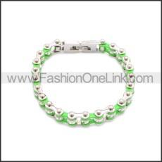 Stainless Steel Bracelet b009984SB