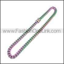 Stainless Steel Neckalce n003171C2