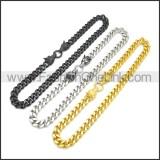 Stainless Steel Neckalce n003173H