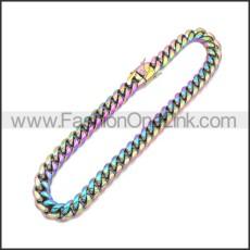 Stainless Steel Neckalce n003172C