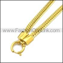 Stainless Steel Neckalce n003167G
