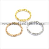 Stainless Steel Ring r008724G