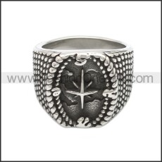 Stainless Steel Ring r008657SA