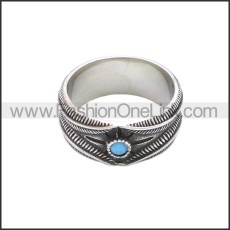Stainless Steel Ring r008648SA3