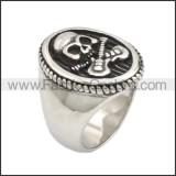 Stainless Steel Ring r008731SA