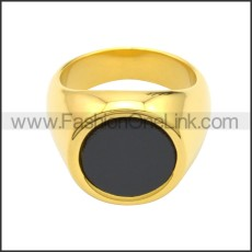 Stainless Steel Ring r008719GH