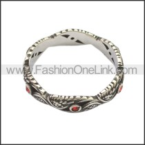 Stainless Steel Ring r008723SA1