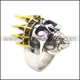 Stainless Steel Ring r008734SG1