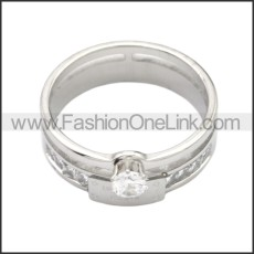 Stainless Steel Ring r008726S