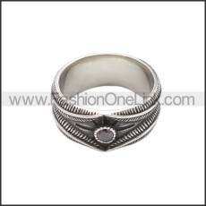 Stainless Steel Ring r008648SA2