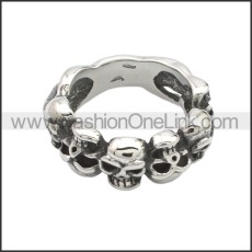 Stainless Steel Ring r008664SA