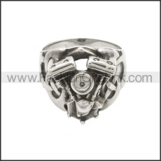 Stainless Steel Ring r008624SA