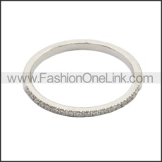 Stainless Steel Ring r008725S