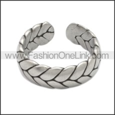 Stainless Steel Ring r008652S1