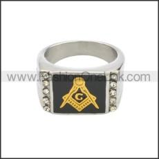 Stainless Steel Ring r008642SHG