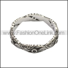 Stainless Steel Ring r008723SA2