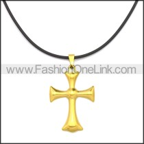 Rubber Necklace W Stainless Steel Clasp n003182HG