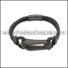 Stainless Steel Bracelet b010022H