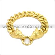 Stainless Steel Bracelet b010035G
