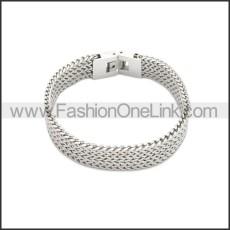 Stainless Steel Bracelet b009992S