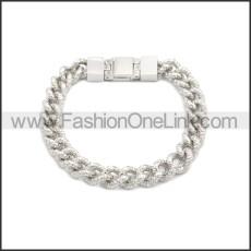 Stainless Steel Bracelet b009991S