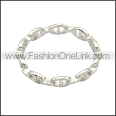 Stainless Steel Ring r008757S