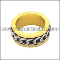 Stainless Steel Ring r008741GS