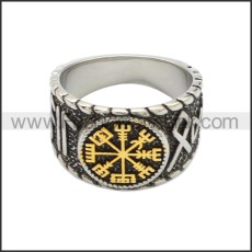 Stainless Steel Ring r008748SAG