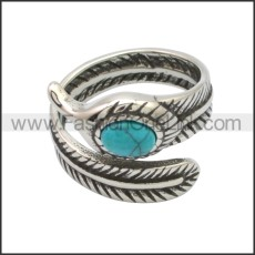 Stainless Steel Ring r008763SA2