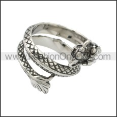 Stainless Steel Ring r008764SA