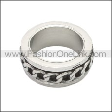 Stainless Steel Ring r008741SA