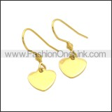Stainless Steel Earring e002182G
