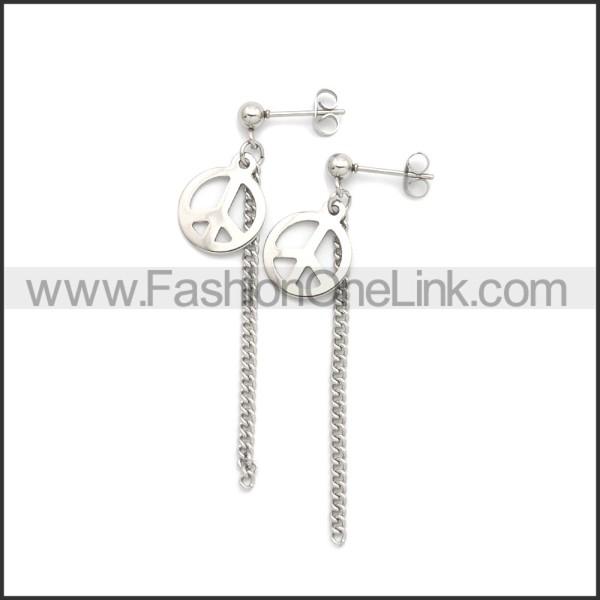 Stainless Steel Earring e002189S