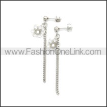 Stainless Steel Earring e002186S