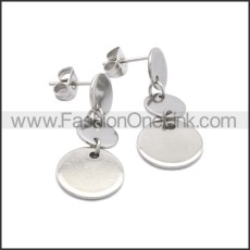 Stainless Steel Earring e002180S