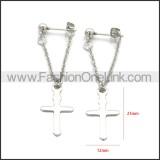 Stainless Steel Earring e002198S