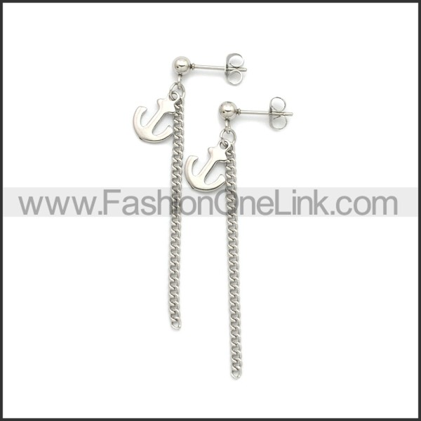 Stainless Steel Earring e002196S
