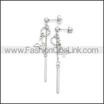Stainless Steel Earring e002187S