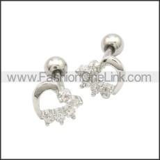 Stainless Steel Earring e002175S