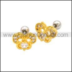 Stainless Steel Earring e002177G