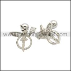 Stainless Steel Earring e002176S1