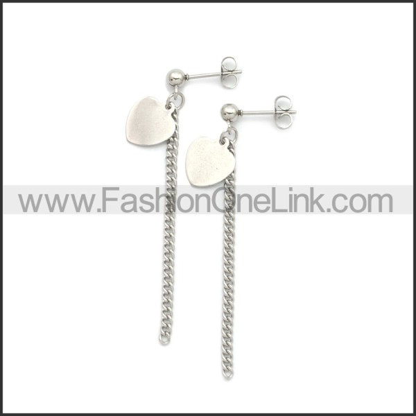 Stainless Steel Earring e002195S